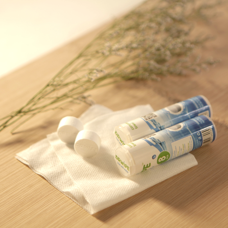 Tube Packing 8pcs Compressed Towel Small Size